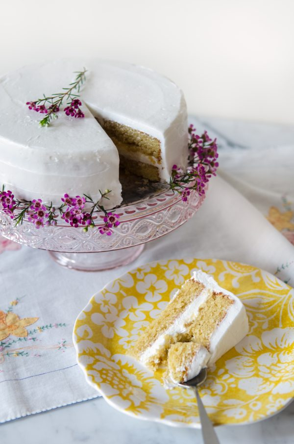 Gluten free almond cake recipe