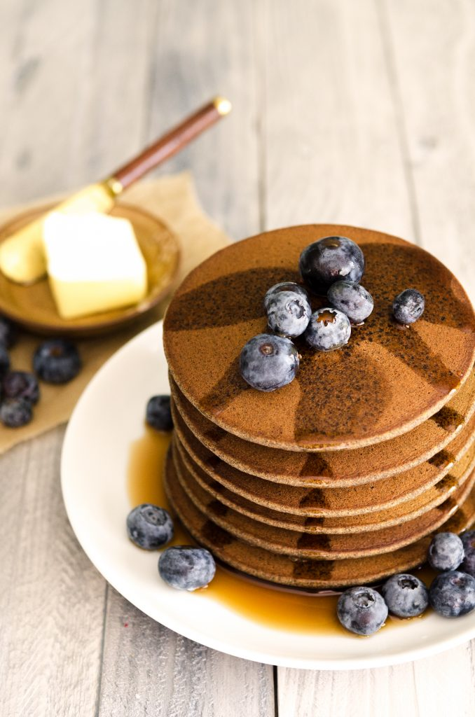 Down Home Buckwheat Pancakes Recipe Bob S Red Mill