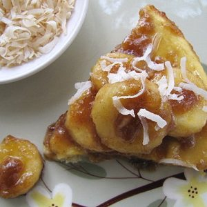 Coconut Dutch Baby With Kahlua Bananas Bob S Red Mill S