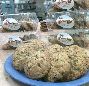 Apple Blueberry Granola Cookies