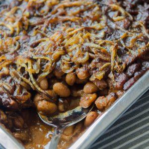 Macedonian Baked Beans