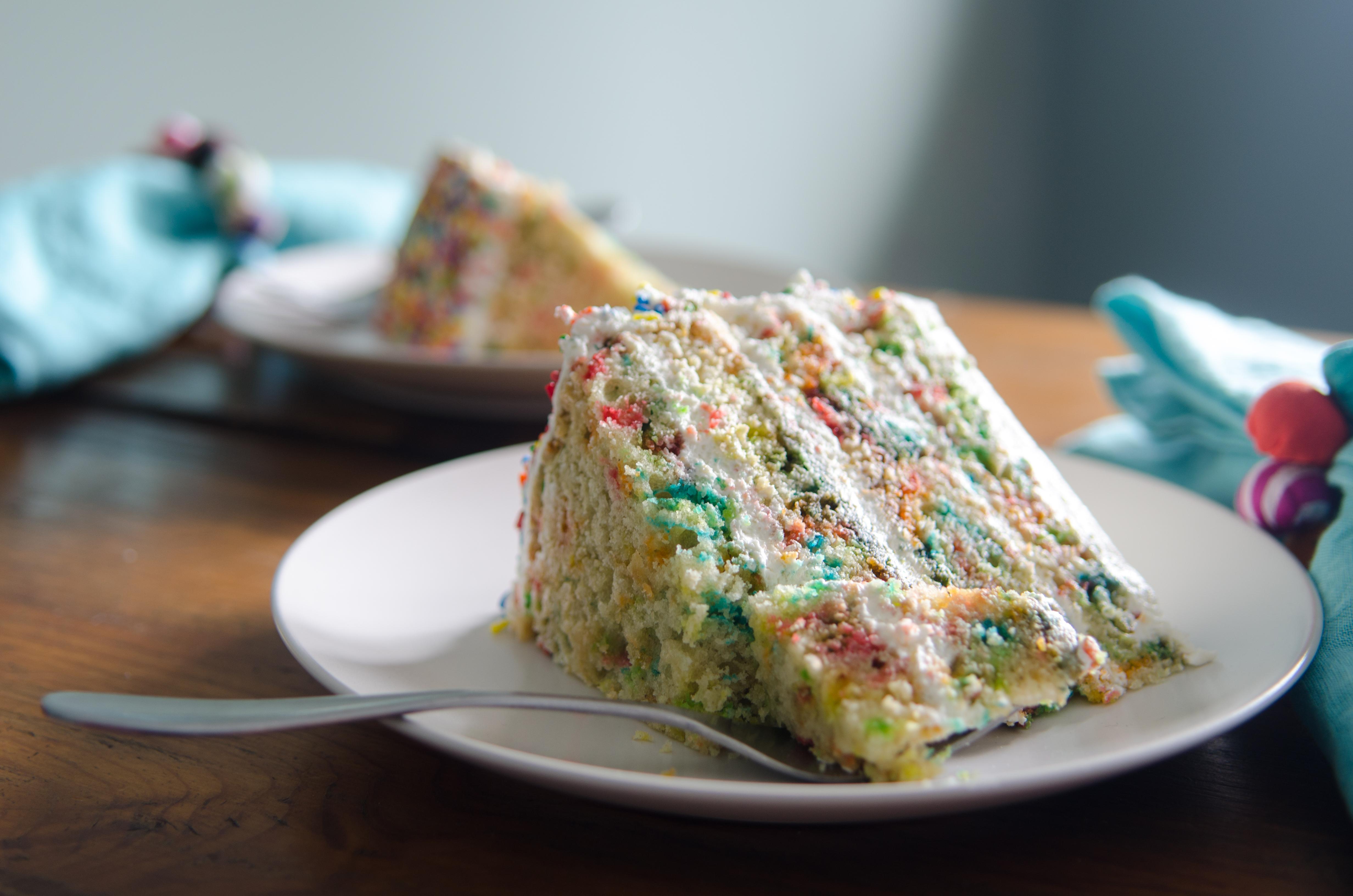 Homemade Gluten Free Confetti Cake Bob S Red Mill
