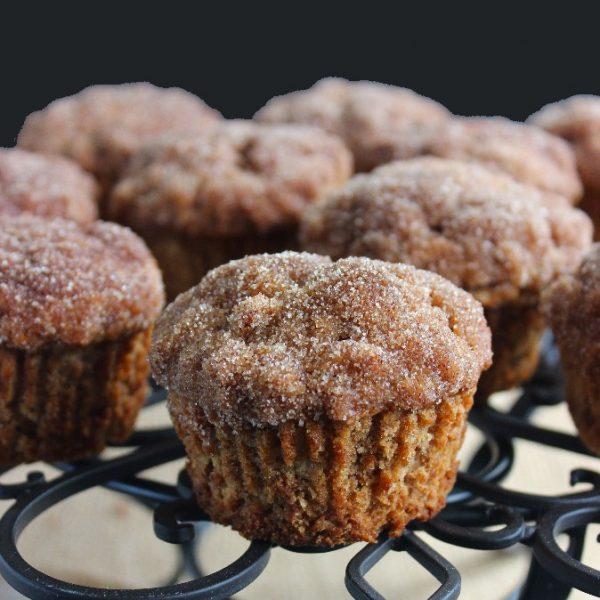 Cinnamon Apple Crisp Muffins
