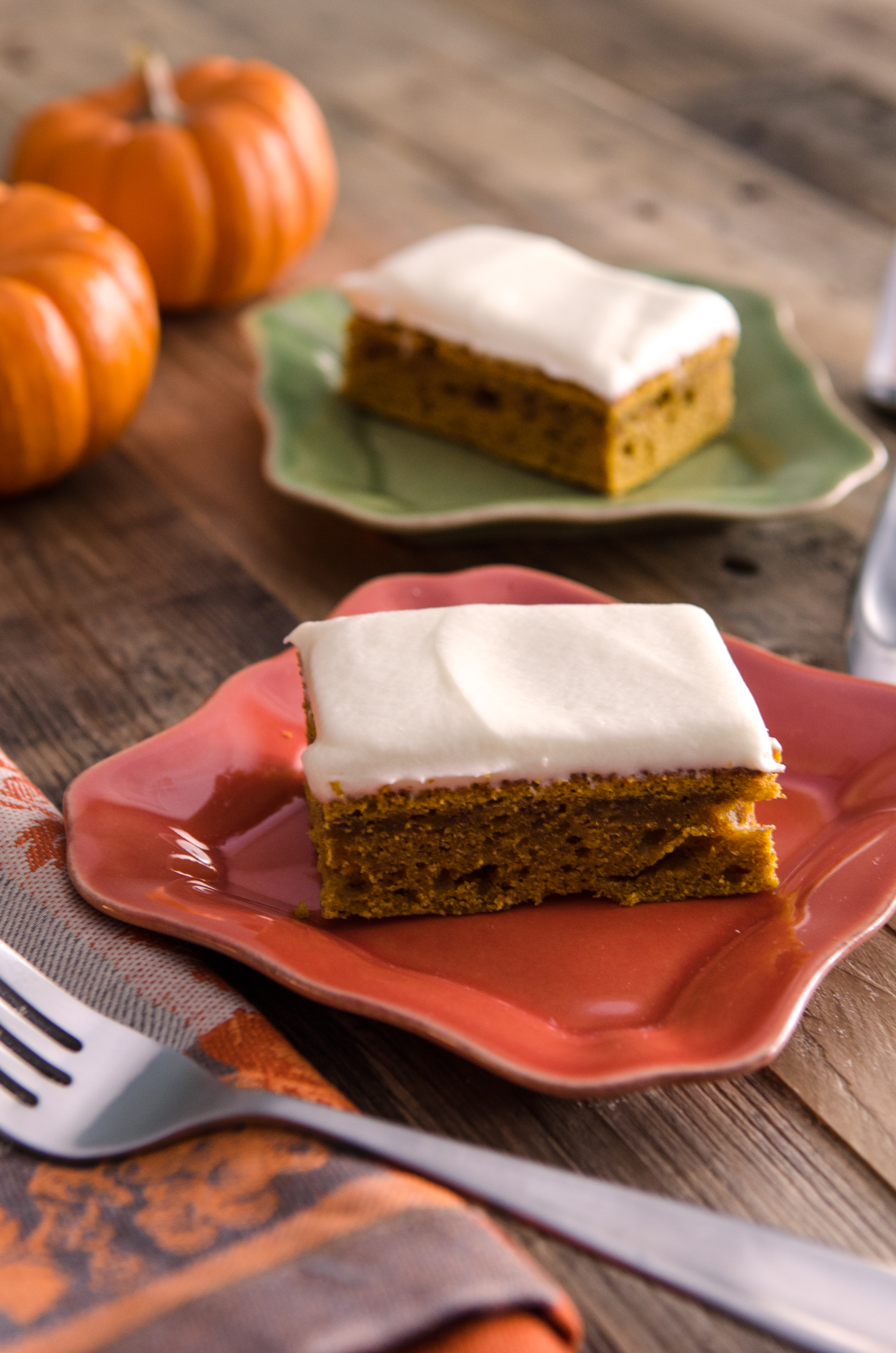 Pumpkin bars with cream cheese frosting bobs red mills recipe box aloadofball Image collections