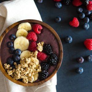 Chocolate Berry Breakfast Bowl