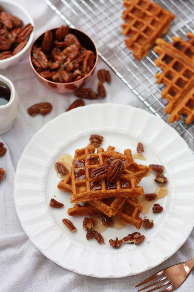 Sweet Potato Waffles Recipe Bob S Red Mill