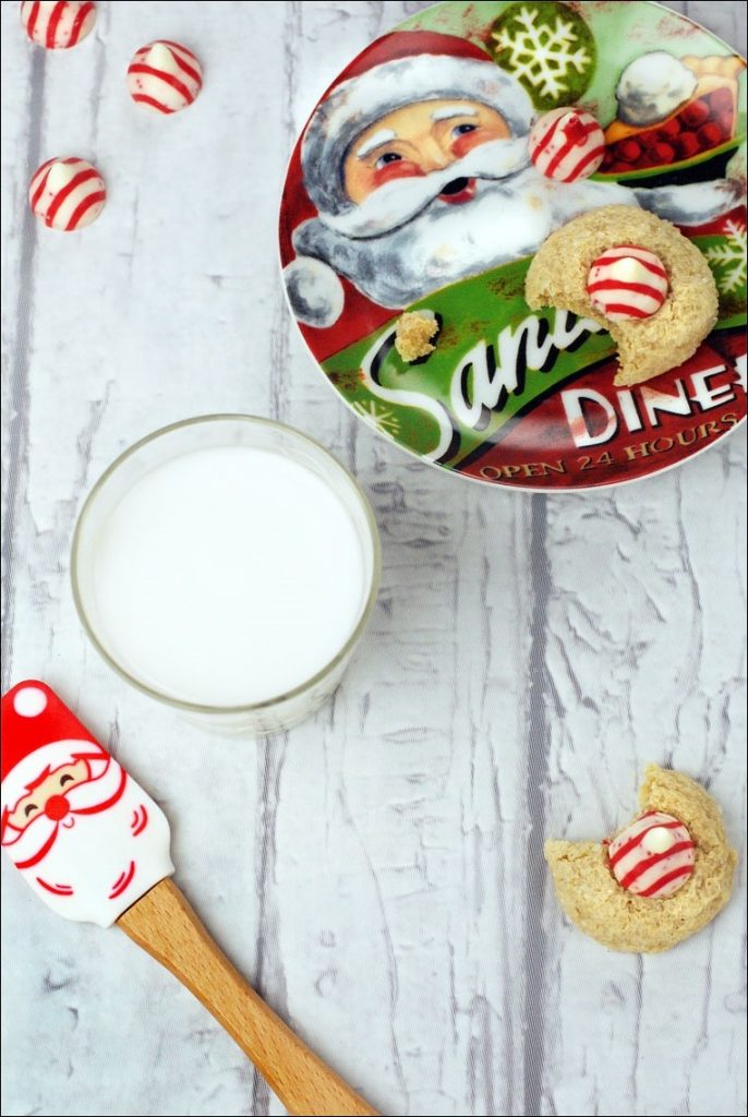 Easy Peppermint Blossom Cookies Recipe Bob S Red Mill