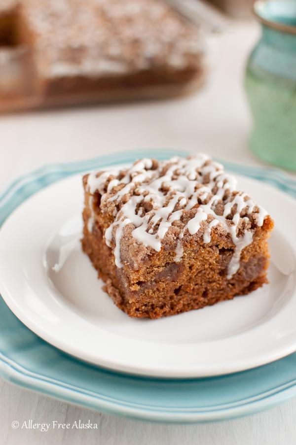 Gluten Free Streusel Coffee Cake Recipe