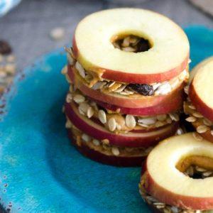Apple Muesli Sandwiches