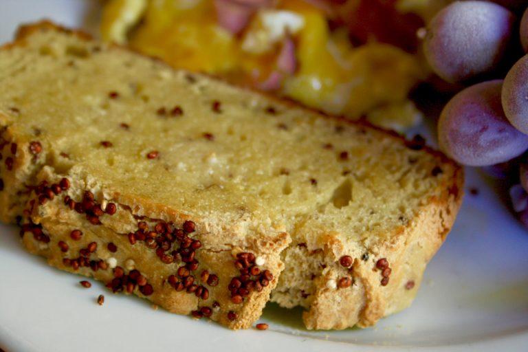 Quick Gluten Free Quinoa Bread Recipe Bob S Red Mill