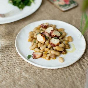 Cannellini and Octopus