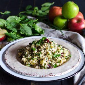 Cran-Apple Buckwheat Salad