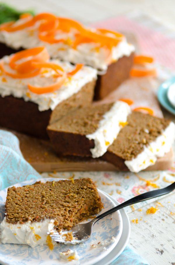 Dairy Free Soy Free Carrot Cake Recipe