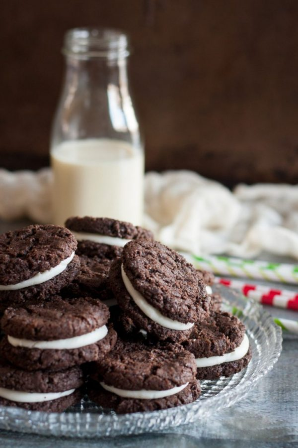 Chocolate Peppermint Sandwich Cookies | Bob's Red Mill's ...