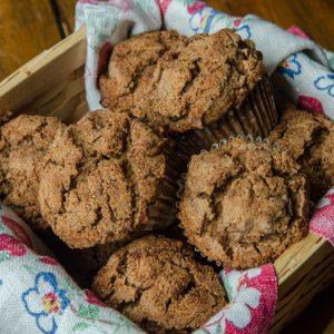 Whole Grain Fruit Muffins