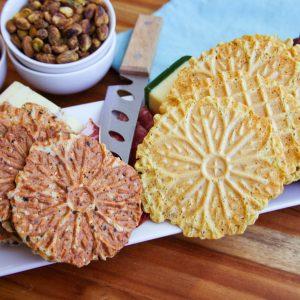 Gluten Free Quinoa Crackers