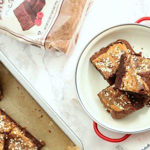 Gluten Free Tahini Brownies