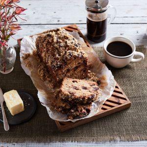 Chocolate Hazelnut Quinoa Bread
