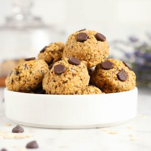 Healthy Breakfast Cookies with Oats and Peanut Butter