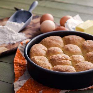 Homemade Buttermilk Rolls