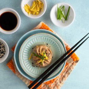 Vegan Xiao Long Bao