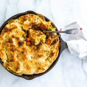 Gluten Free Vegetable Pot Pie