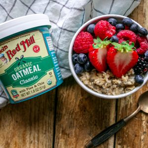 Overnight Oatmeal Cup
