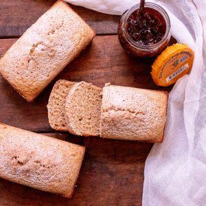 Gluten Free Oat Flour Quick Bread