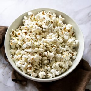 Herb and Ollie (Olive Oil) Popcorn