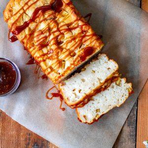 Caramel Apple Cider Bread