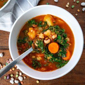 13 Bean Kale Soup
