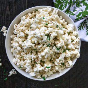 White Cheddar Chive Popcorn